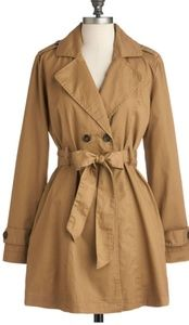 Tulle Call Me Uptown Coat